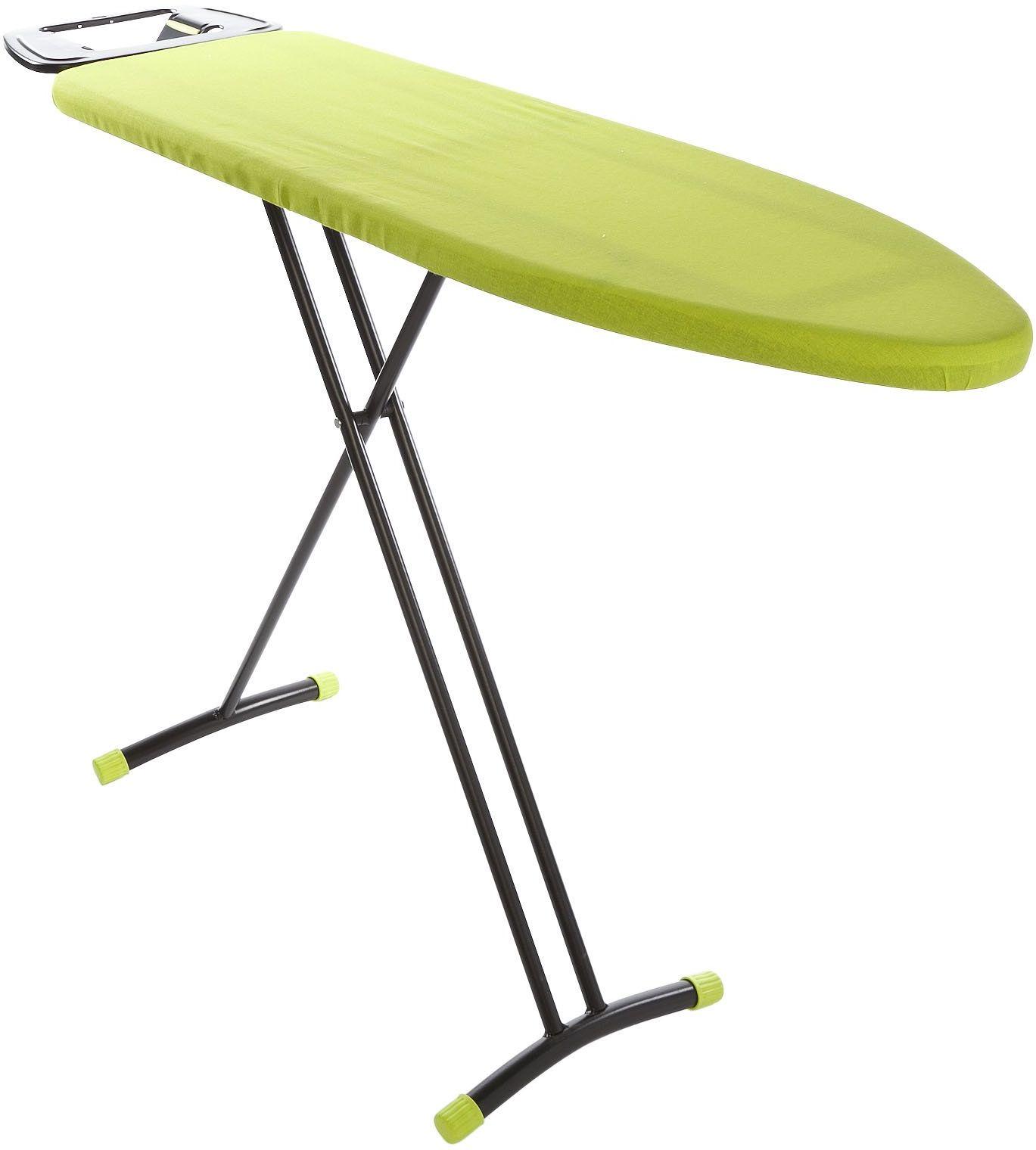 Cosy & Trendy 5622801 prasowania stół Entry czarny/zielony 116 x 32 cm