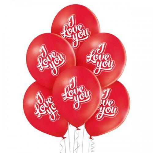 Balon walentynkowy I Love You