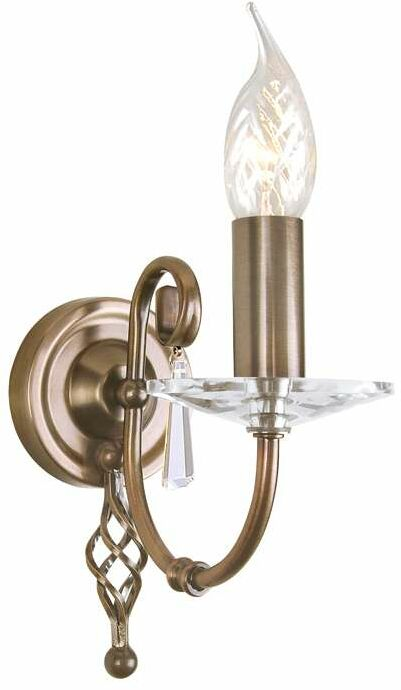 Kinkiet AEGEAN AG1 AGED BRASS - Elstead Lighting  Skorzystaj z kuponu -10% -KOD: OKAZJA