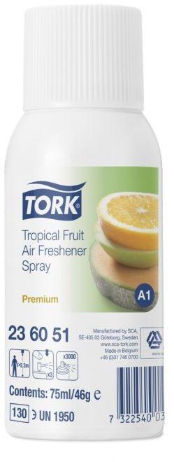 Odświeżacz powietrza w aerozolu Tork Premium owoce tropikalne