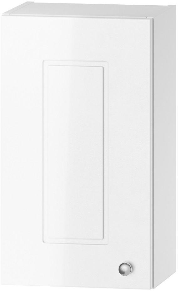 Szafka łazienkowa VERONA W30 P/L biały połysk górna  KUP TERAZ - OTRZYMAJ RABAT