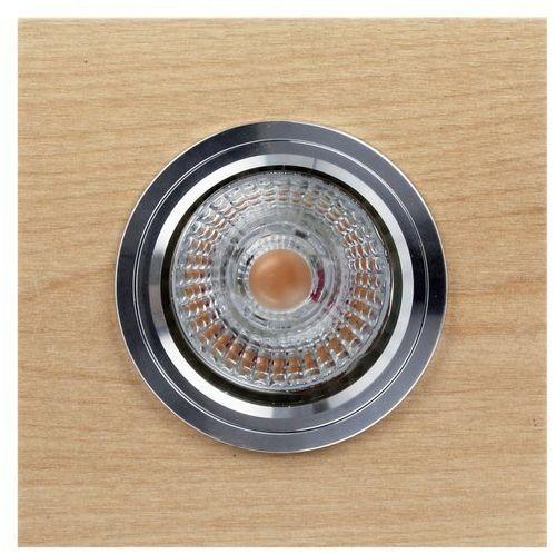 Lampa sufitowa VITAR WOOD oczko sufitowe wpuszczane drewno brzozowe kolor brzoza, 2515160