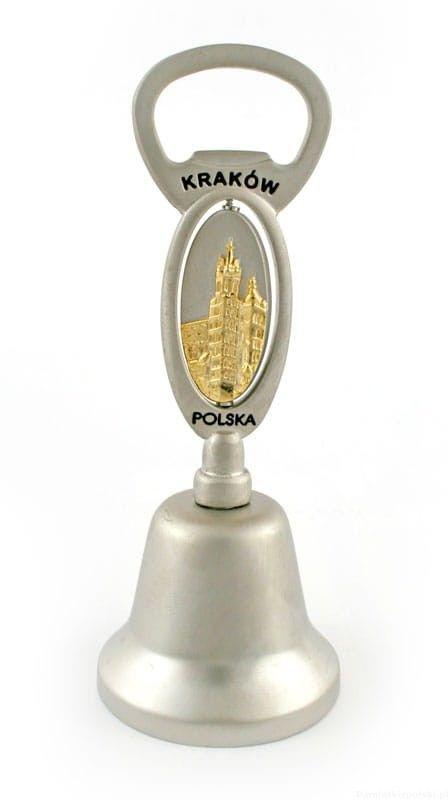 Dzwonek metalowy Kraków - k. Mariacki