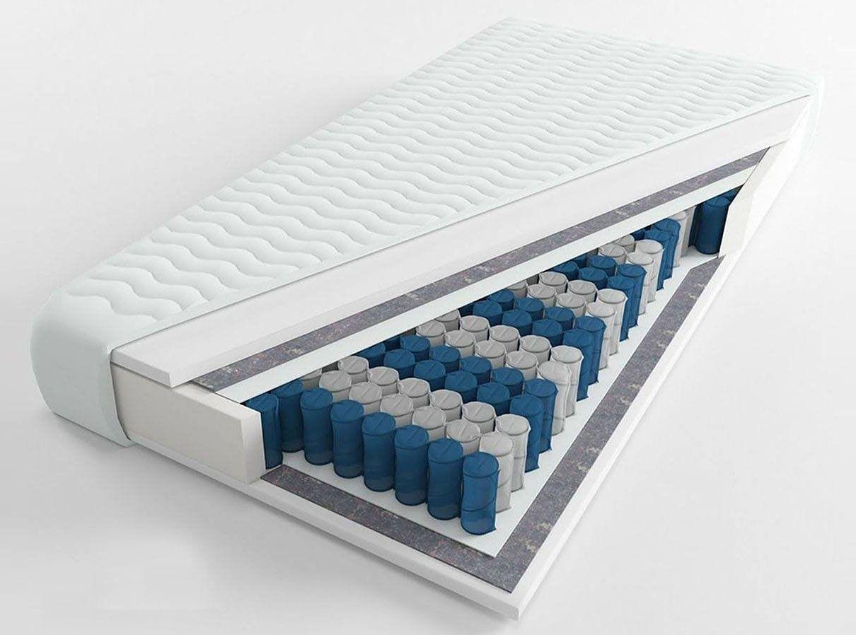 Materac kieszeniowy z pianką lateksową Zikon 4X - 8 rozmiarów
