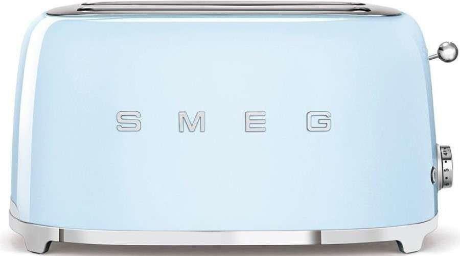 SMEG_Toster TSF02PBEU p.błękit - Produkt na zamówienie ( TERMIN REALIZACJI 4- 6 TYGODNI ) -(22)8777777- Zadzwoń - Darmowa dostawa- Autoryzowany Partner marki SMEG