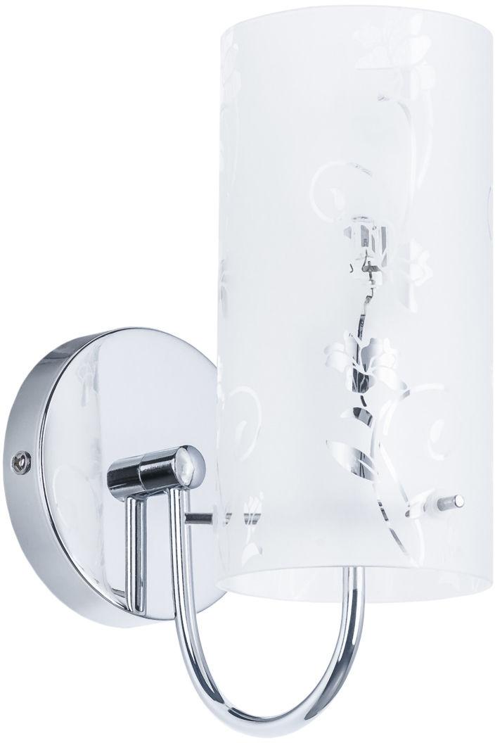 Italux kinkiet lampa ścienna Naolin MBM1792-1 chrom szkło