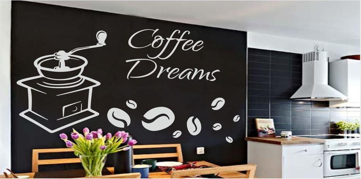 Naklejka do kuchni Coffee Dreams