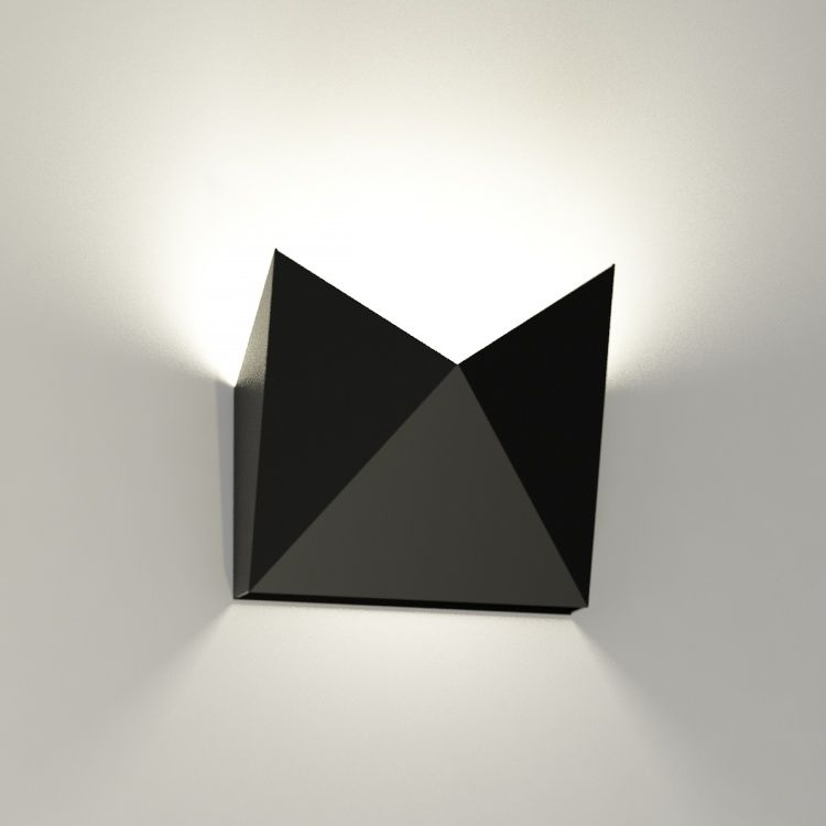 Kinkiet AGI 4422 Shilo czarny