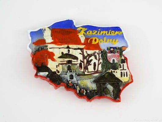 Magnes kontur Kazimierz Dolny