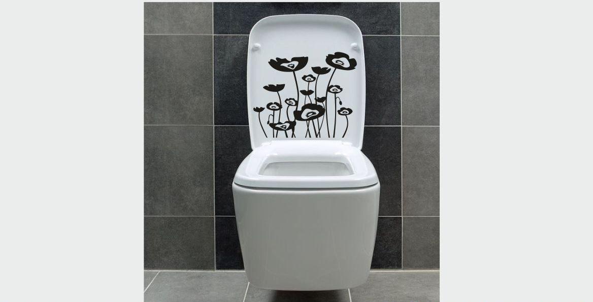 Naklejka do łazienki Maki