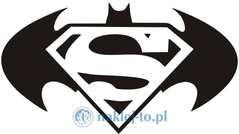 Superbohaterowie naklejka naklejka na ścianę