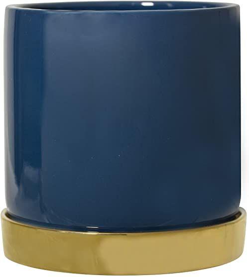 Bloomingville Doniczka niebieska, Ø 14 cm