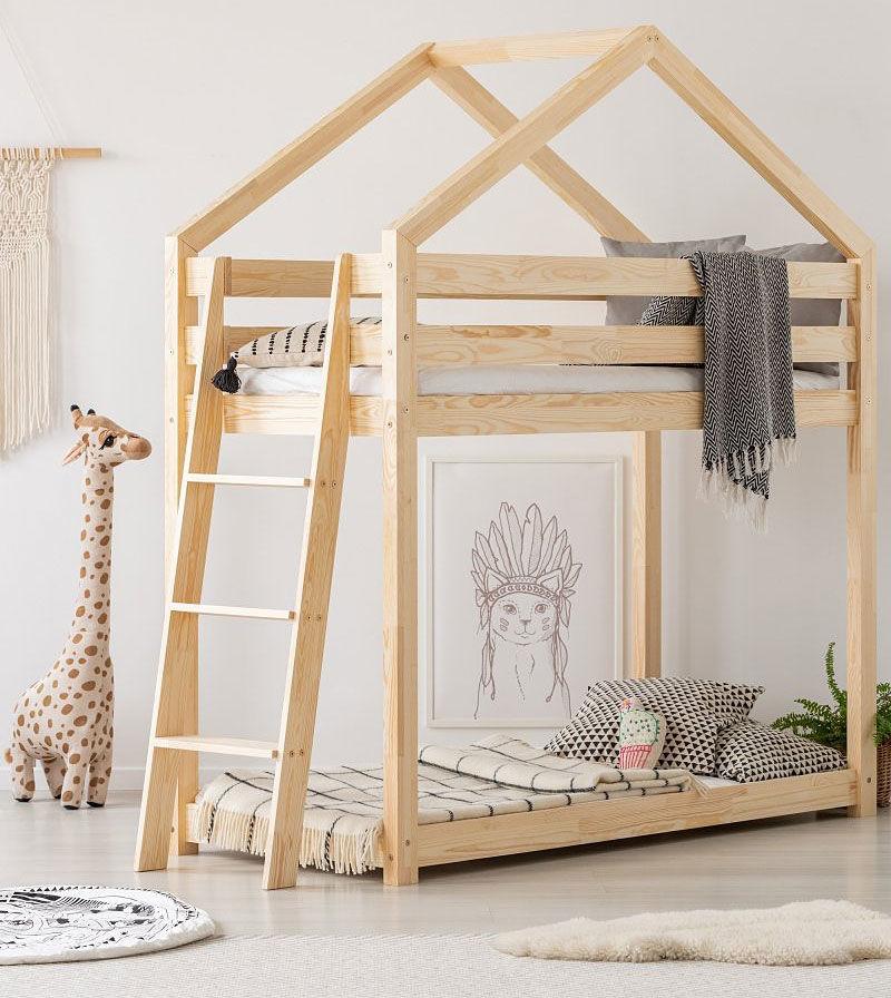 Piętrowe łóżko domek Miles 7X - 12 rozmiarów