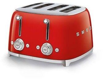 SMEG_Toster TSF03RDEU czerwony - Produkt na zamówienie ( TERMIN REALIZACJI 4- 6 TYGODNI ) -(22)8777777- Zadzwoń - Darmowa dostawa- Autoryzowany Partner marki SMEG