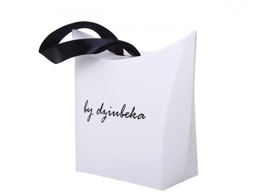 Pudełko ozdobne prezentowe By Dziubeka z nadrukiem