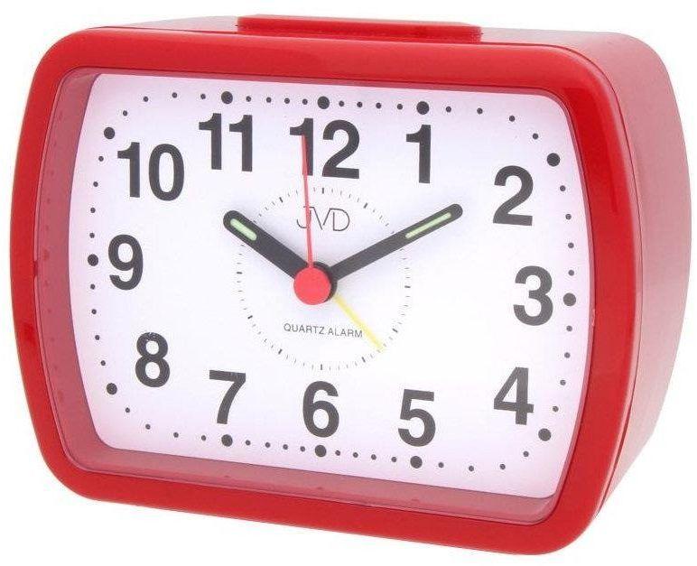 Budzik JVD SR309.2 Bell Alarm - odcienie czerwonego