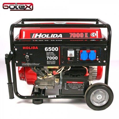 Agregat prądotwórczy, generator Holida WM 7000E jednofazowy 7 kW - elektryczny rozruch