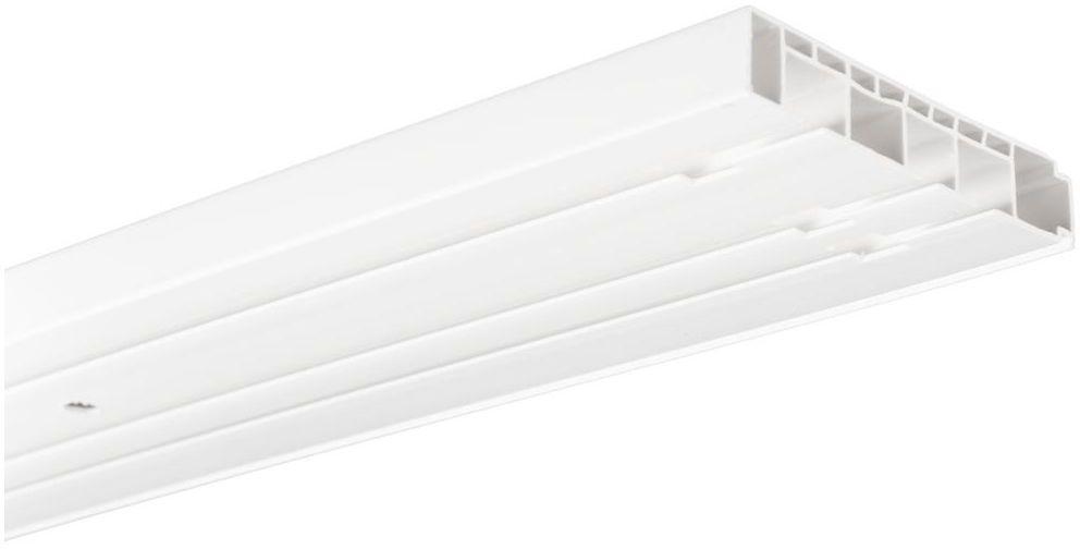 Szyna sufitowa 3-torowa 250 cm PVC INSPIRE