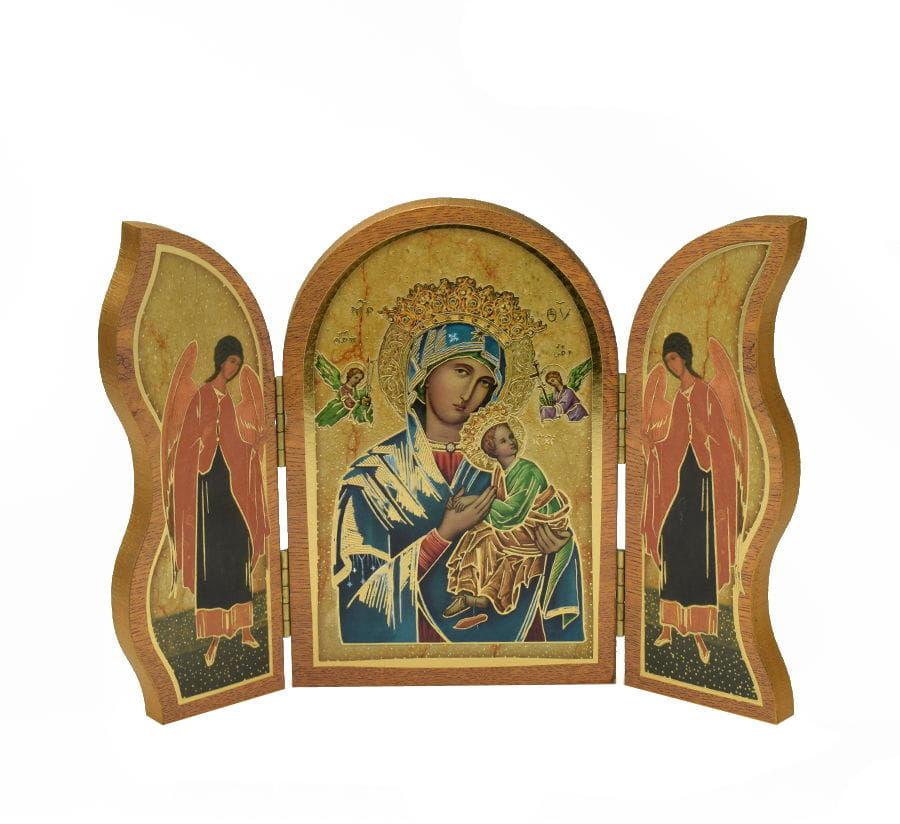 Tryptyk, ołtarzyk do modlitwy Matka Boża Nieustającej Pomocy