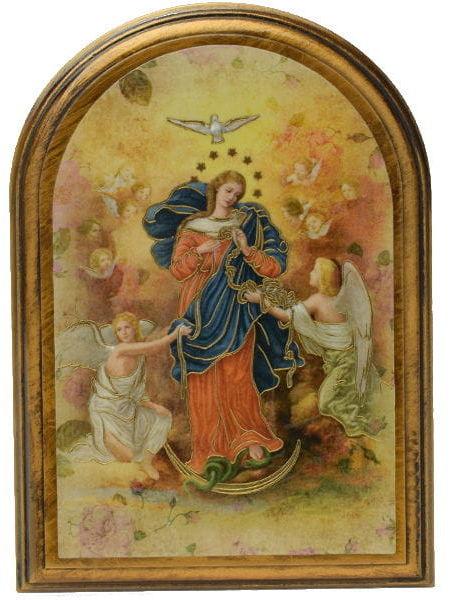 Obrazek arkadowy Matka Boża Rozwiązująca Węzły