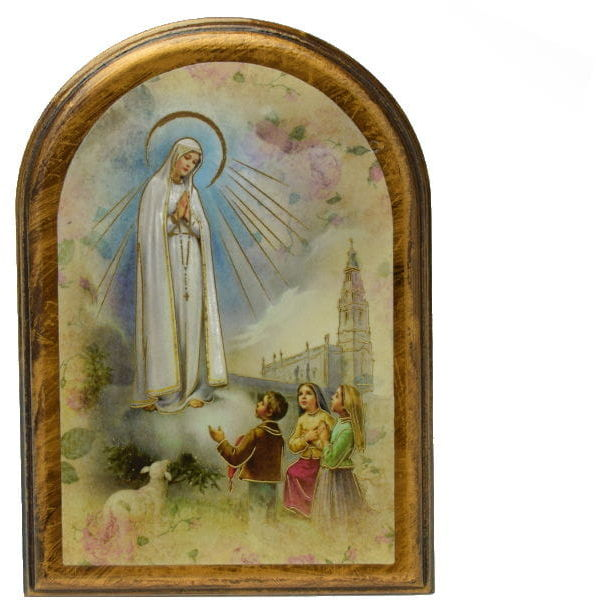 Obrazek arkadowy Matka Boża z Fatimy