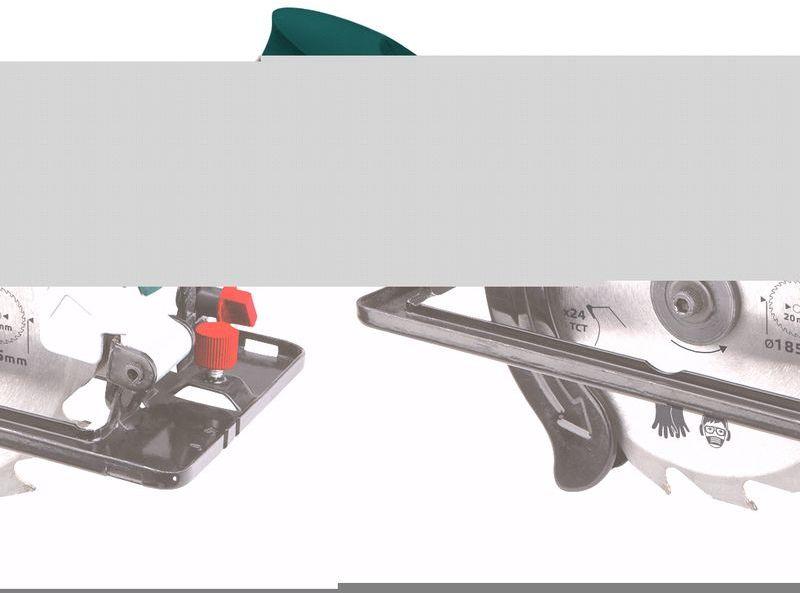 Pilarka tarczowa 1200W tarcza185x20 mm 52G684