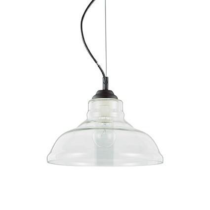 Bistro SP1 Plate - Ideal Lux - lampa wisząca  GWARANCJA NAJNIŻSZEJ CENY!