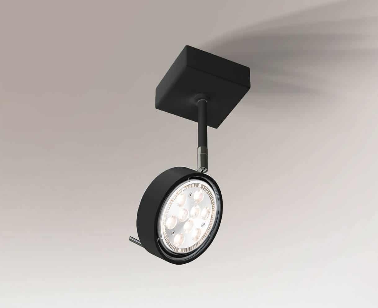Reflektor FUSSA 2218 Shilo czarny