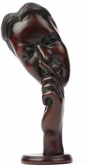 Statuetka Maska 21