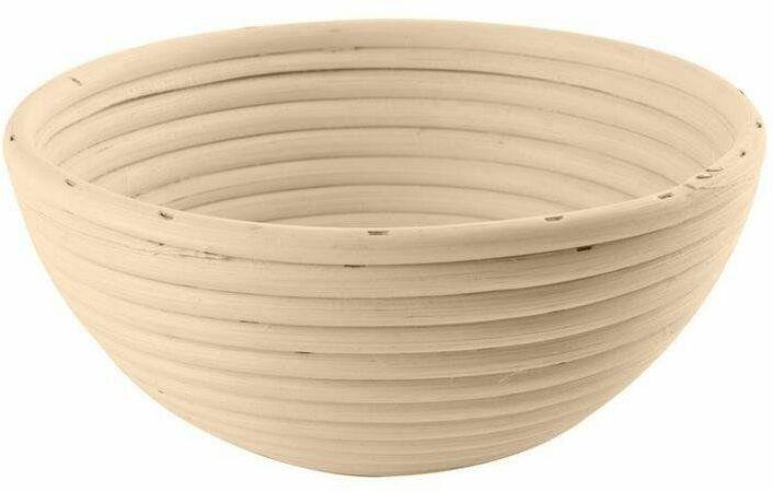 Koszyk rattanowy do wyrastania garowania chleba ciasta na chleb 0,5kg 14 cm