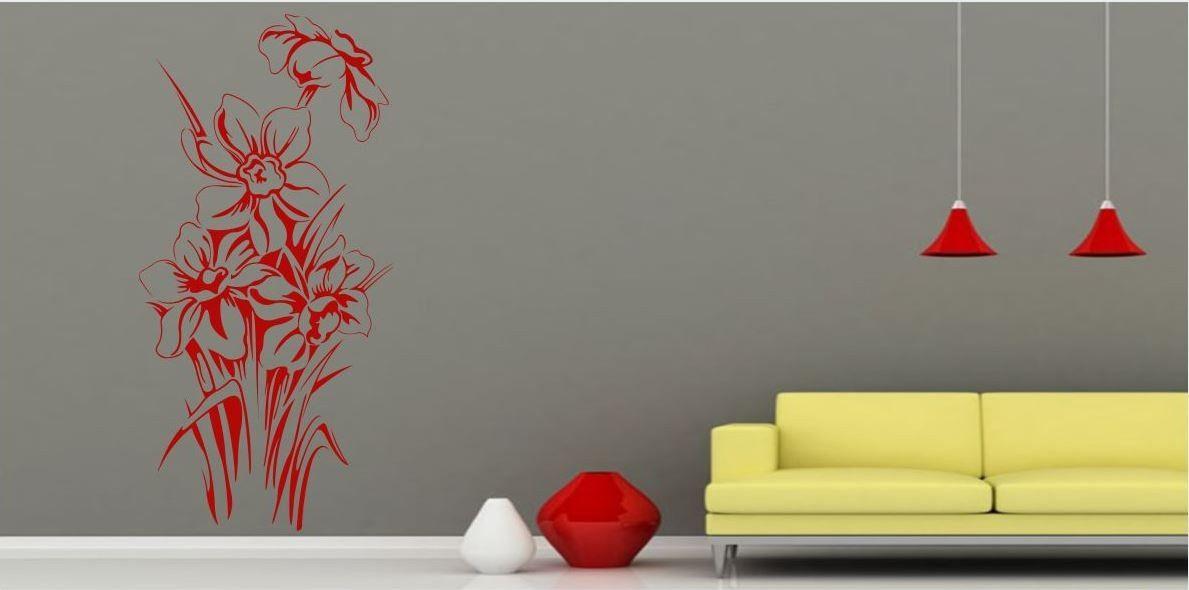 Naklejka Kwiaty Żonkile