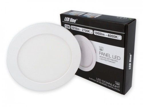 Panel LEDline EasyFix 12W 1010lm 2700K - biała ciepła