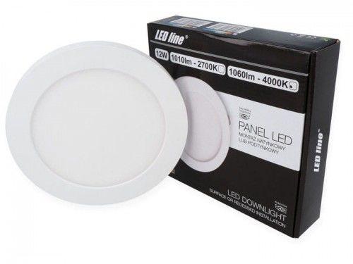 Panel LEDline EasyFix 12W 1060lm 4000K - biała dzienna