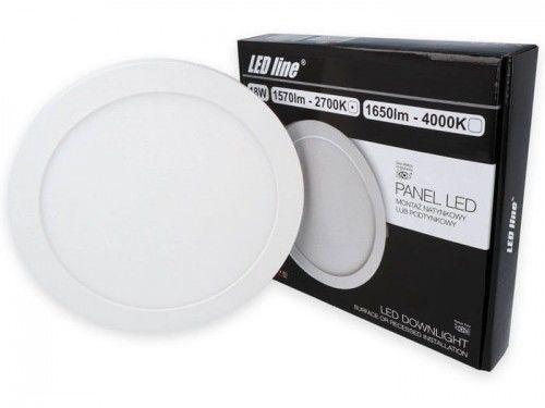 Panel LEDline EasyFix 18W 1570lm 2700K - biała ciepła