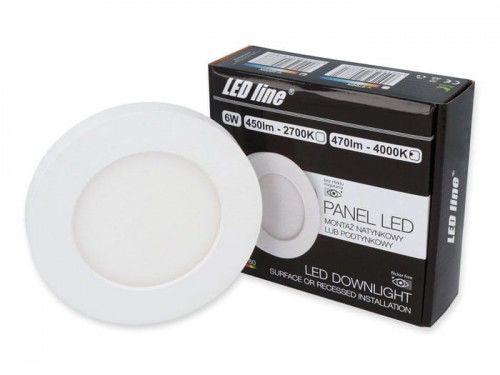 Panel LEDline EasyFix 6W 470lm 4000K - biała dzienna
