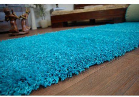 Wykładzina dywanowa SHAGGY 5cm turkus