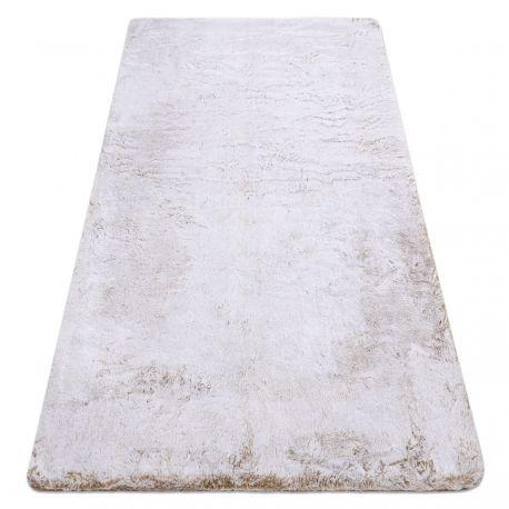 Dywan LAPIN Shaggy beż / kość słoniowa, antypoślizgowy, do prania 60x100 cm