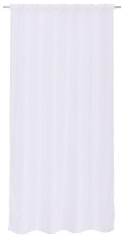 Firana na taśmie Polyone 140 x 280 cm biała Inspire