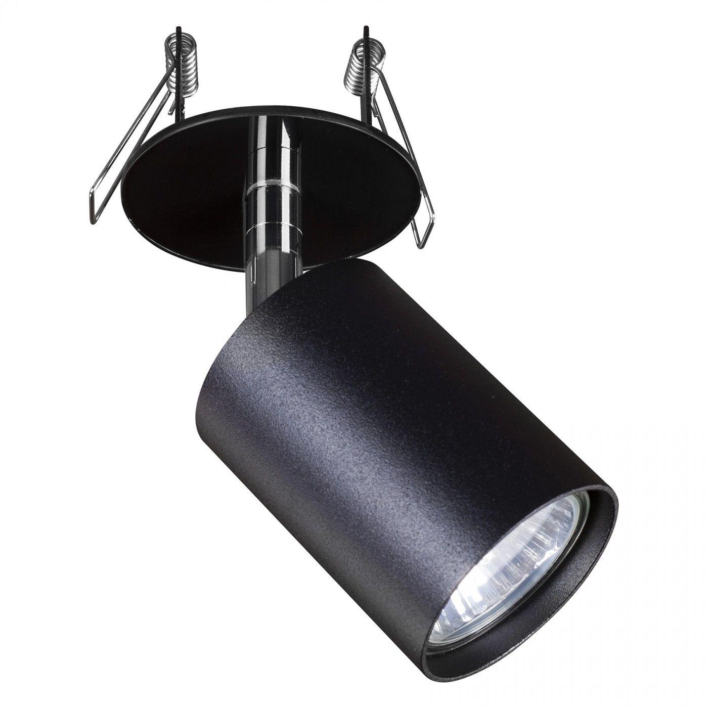 Oprawa wpuszczana Eye Fit 9400 Nowodvorski Lighting pojedynczy czarny reflektor