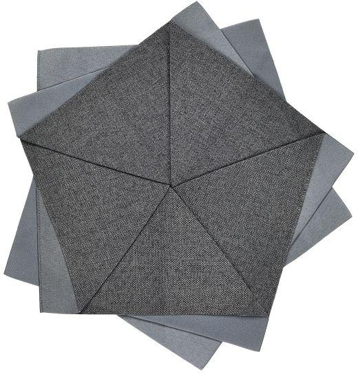 Iittala X ISSEY MIYAKE Dekoracja Stołu 27 cm Ciemnoszara