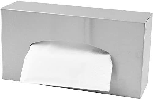 Ridder Classic pudełko na chusteczki papierowe, stal nierdzewna, chrom, ok. 26 x 13,5 x 7,8 cm