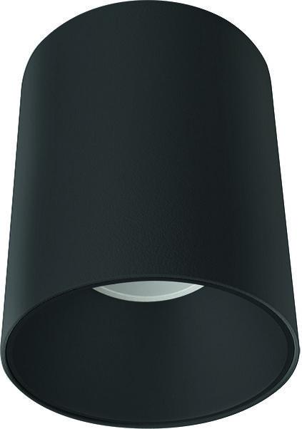 Plafon Eye Tone 8930 Nowodvorski Lighting czarna oprawa w kształcie tuby