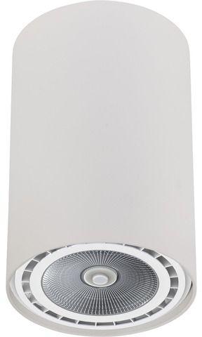 Plafon Bit M 9481 Nowodvorski Lighting biała tuba w nowoczesnym stylu