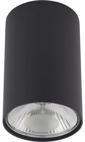 Plafon Bit M 9485 Nowodvorski Lighting grafitowa tuba w nowoczesnym stylu