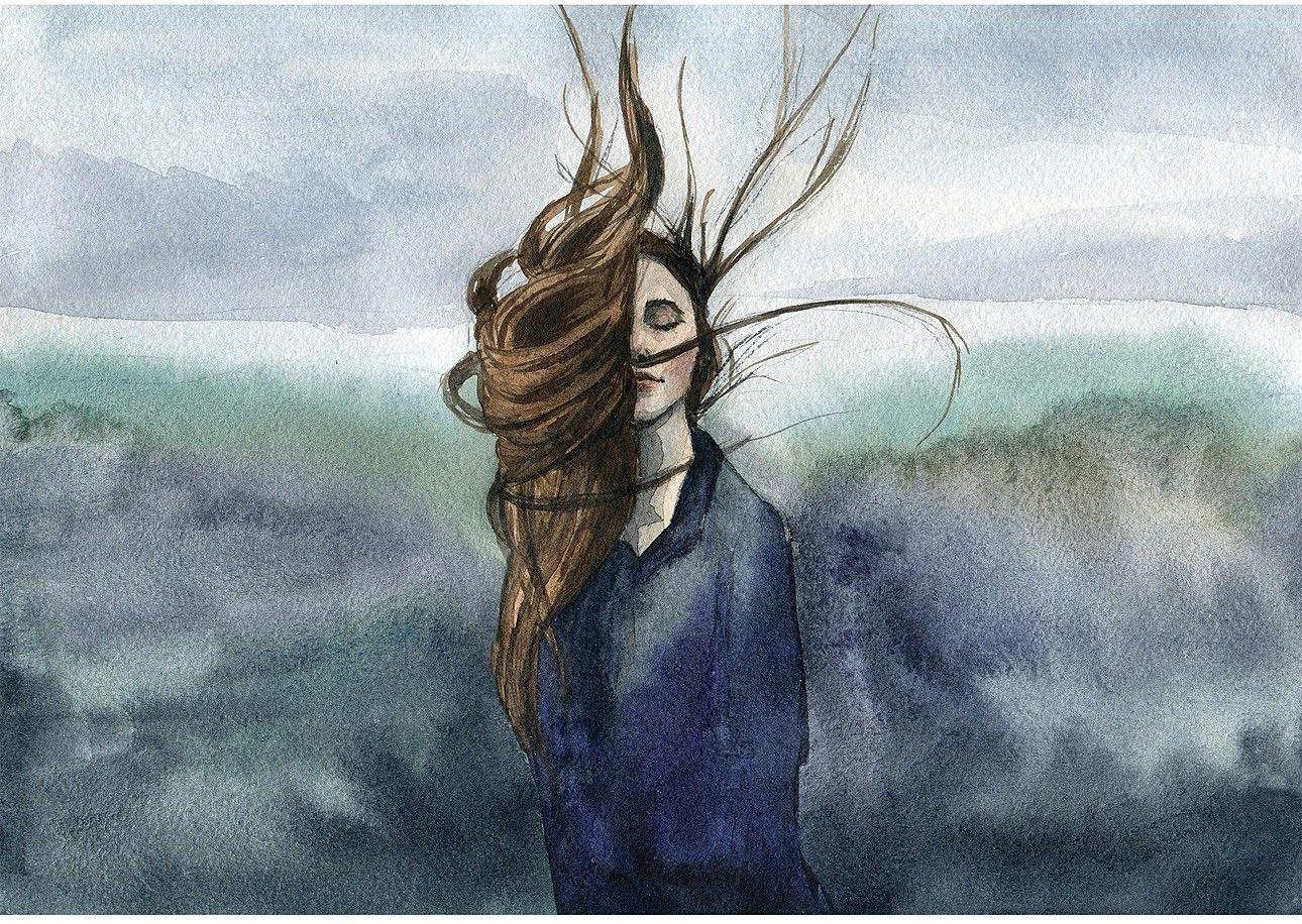 Obraz na płótnie Wind