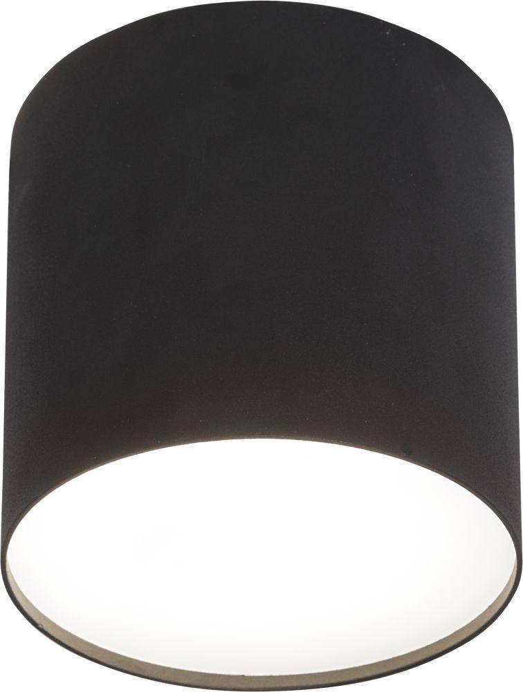 Plafon Point Plexi M 6526 Nowodvorski Lighting czarna oprawa sufitowa