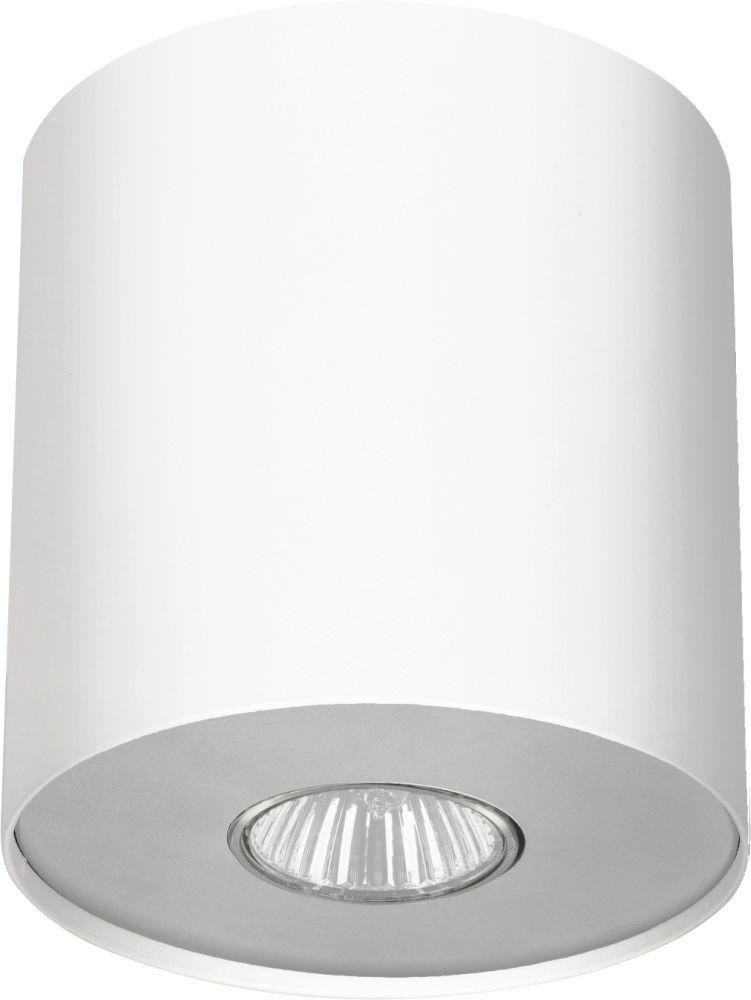 Plafon Point M 6001 Nowodvorski Lighting biała lampa z wymiennym pierścieniem