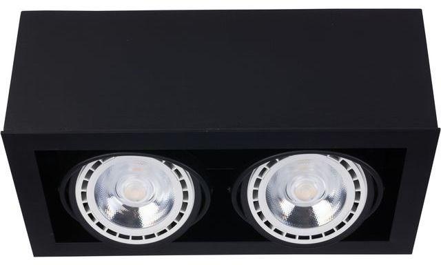 Oprawa natynkowa Box ES111 9470 Nowodvorski Lighting podwójna oprawa w kolorze czarnym