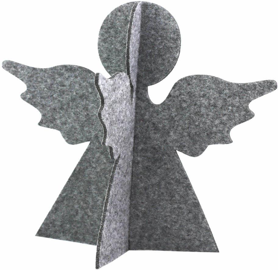 Aniołek z filcu na Boże Narodzenie - 19 cm
