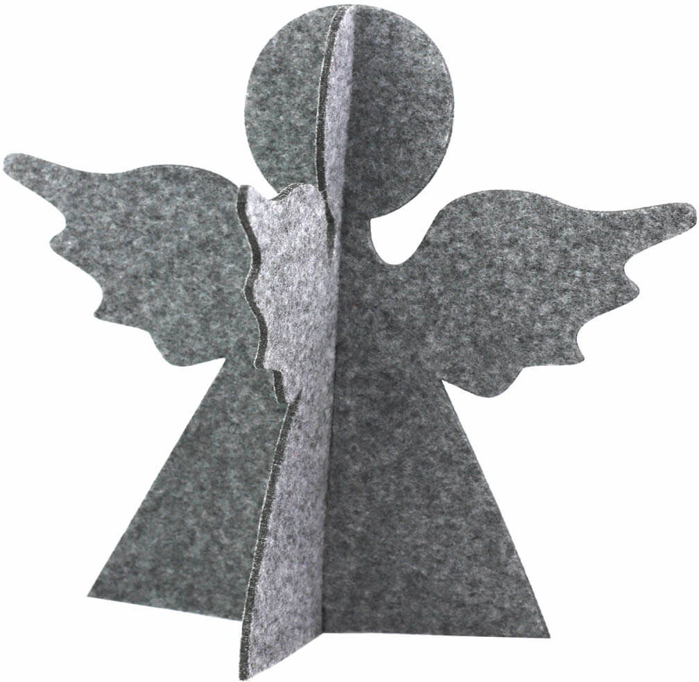 Aniołek z filcu na Boże Narodzenie - 24 cm